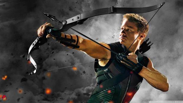 Całkiem specyficzny koncept superherosa z tego Hawkeye'a...